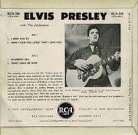 ELVIS PRESLEY Elvis Presley EP Vinyl Record 7 Inch RCA 1960